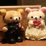 ตุ๊กตาหมีคุมะแต่งงาน Rilakkuma Wedding ขนาด 9 นิ้ว