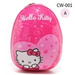 CW-001 กระเป๋าไฟเบอร์ทรงไข่ (12 นิ้ว)