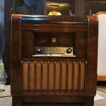 วิทยุหลอด console Kaiser Walzer 53 W770 Radio ปี1953 รหัส19960ks