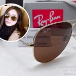 RB 3025 AVIATOR LARGE METAL 001/33 58-14 3N <ชาเต็มบาน>