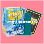 Dragon Shield Standard Size Card Sleeves - Petrol • Matte 100ct.