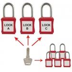 แม่กุญแจชุด รุ่น KA10-20 Key Alike System