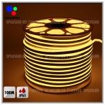 ไฟLED Neon flex 2835 กันน้ำ IP65 100เมตร แสงวอร์ม