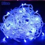 LED ไฟหยดน้ำ 10m. สี Blue