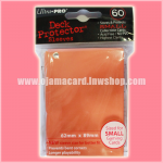 Ultra•Pro Small Deck Protector / Sleeve - Orange 60ct.
