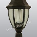 โคมไฟหัวเสาสนามนอกบ้าน SL-11-5018S-BK-M