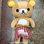 ตุ๊กตา Rilakkuma ขนาด 12 นิ้ว ด้านหลังรูดซิปได้ งานสวยมากค่ะ