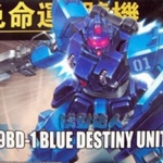 HGUC (080) 1/144 RX-79BD-1 Blue Destiny Unit 1