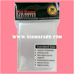 Pro Game PROTECTOR Sleeves : Crystral Clear Standard Size 50ct.