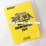 Yu-Gi-Oh! ZEXAL OCG Duelist Card Protector / Sleeve - National Championship 2012 100ct.