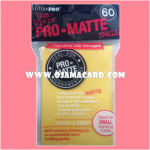 Ultra•Pro Pro-Matte Small Deck Protector / Sleeve - Yellow 60ct.