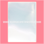 Premium Small Size Card Protector / Sleeve - Clear 60ct.