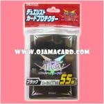 Yu-Gi-Oh! ARC-V OCG Duelist Card Protector / Sleeve - Black x55