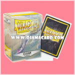 Dragon Shield Standard Size Card Sleeves - Clear • Classic 100ct.