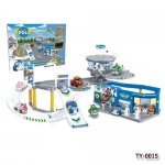 TY-0015 Poli Police Department -PlaySet