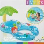 ห่วงยางแม่และลูก มีร่มกันแดด Intex