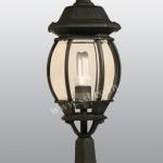 โคมไฟหัวเสาสนามนอกบ้าน SL-11-5003S1-BK-M