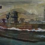 เรือ 1/200 U-Boat Type IX B