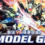 SD Strike Freedom Vs Destiny