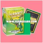 Dragon Shield Standard Size Card Sleeves - Apple Green • Matte 100ct.