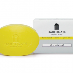 Harrogate Sulphur Soap สบู่ซัลเฟอร์ฮาโรเกต 50 g (สีเหลือง The Original)