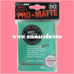 Ultra•Pro Pro-Matte Standard Deck Protector / Sleeve - Aqua 50ct.