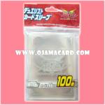 Yu-Gi-Oh! ARC-V OCG Duelist Card Protector / Sleeve - Silver x100