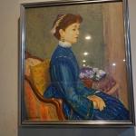 รูปสีน้ำมันศิลปินญี่ปุ่นรหัส31258op