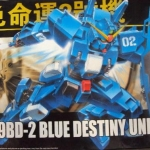HGUC (077) 1/144 RX-79BD Blue Destiny Unit 2