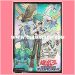 Yu-Gi-Oh! GX OCG Duelist Card Protector / Sleeve - Jesse Anderson / Johan Andersen & Crystal Beast / Gem Beast [Used] x 50