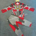 Ultraman X - ชุดแฟนซีอุลตร้าแมนเอ๊กซ์ (งานลิขสิทธิ์) 3 ชิ้น เสื้อ กางเกง & หน้ากากให้คุณหนูๆ ได้ใส่ตามจิตนาการ ผ้ามัน Polyester ใส่สบายค่ะ หรือจะใส่เป็นชุดนอนก็ได้ค่ะ size S, M, L, XL