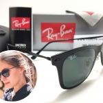 แว่นกันแดด RB 4210 Wayfarer Light Ray 601/71 50-20 3N <ดำ>