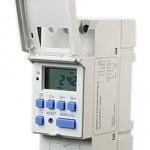 เครื่องตั้งเวลาดิจิตอล 12VDC รุ่น THC 15A 17 โปรแกรม สลับการทำงานอุปกรณ์ไฟฟ้าได้