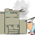 รวมอาการเสียต่างๆ ของเครื่องถ่ายเอกสาร