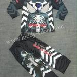 Black Spiderman (งานลิขสิทธิ์) ชุดแฟนซีเด็กแบล๊ค สไปเดอร์แมน ชุด 3 ชิ้น เสื้อ กางเกง และหน้ากาก ให้คุณหนูๆ ได้ใส่ตามจิตนาการ ผ้ามัน Polyester ใส่สบายค่ะ หรือจะใส่เป็นชุดนอนก็ได้ค่ะ size S