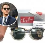 แว่นกันแดด RB 3016 Clubmaster W0366 51-21 3N <กระ>