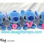 ตุ๊กตา Stitch สติช ชุด LOVE ขนาด 8 นิ้ว (ราคาเซ็ต 4 ตัว)
