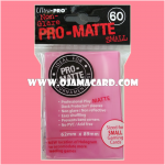 Ultra•Pro Pro-Matte Small Deck Protector / Sleeve - Bright Pink 60ct.