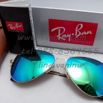 Ray Ban Aviator Flat Metal RB3513 ปรอทฟ้า