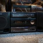 วิทยุเทป sony รหัส30360sn