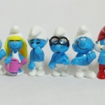 Figure Smurf งาน Kinder Surprise