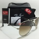 RB 3422Q Aviator Large Metal 003/51 58-14 2N <ดำ>