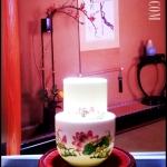 ชุดถ้วยชาแบบดมดื่ม ลายดอกบัว Lotus Tea cup TKLG-LT1