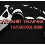 มีดซ้อมคารัมบิตอีมี้แทคติคอล KARAMBIT EMY TACTICAL TRAINER KNIFE