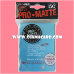 Ultra•Pro Pro-Matte Standard Deck Protector / Sleeve - Light Blue 50ct.