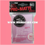 Ultra•Pro Pro-Matte Small Deck Protector / Sleeve - Pink 60ct.