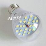 หลอดไฟ LED 5W 12-24V ขั้ว E27 สีขาว ( OEM )