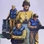 1/35 WW2 USN LCM Crew [Trumpeter]