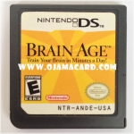 Nintendo DS : Brain Age: Train Your Brain in Minutes a Day! US (Used)