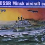 1/700 USSR Minksk aircraft carrier [Trumpeter]
